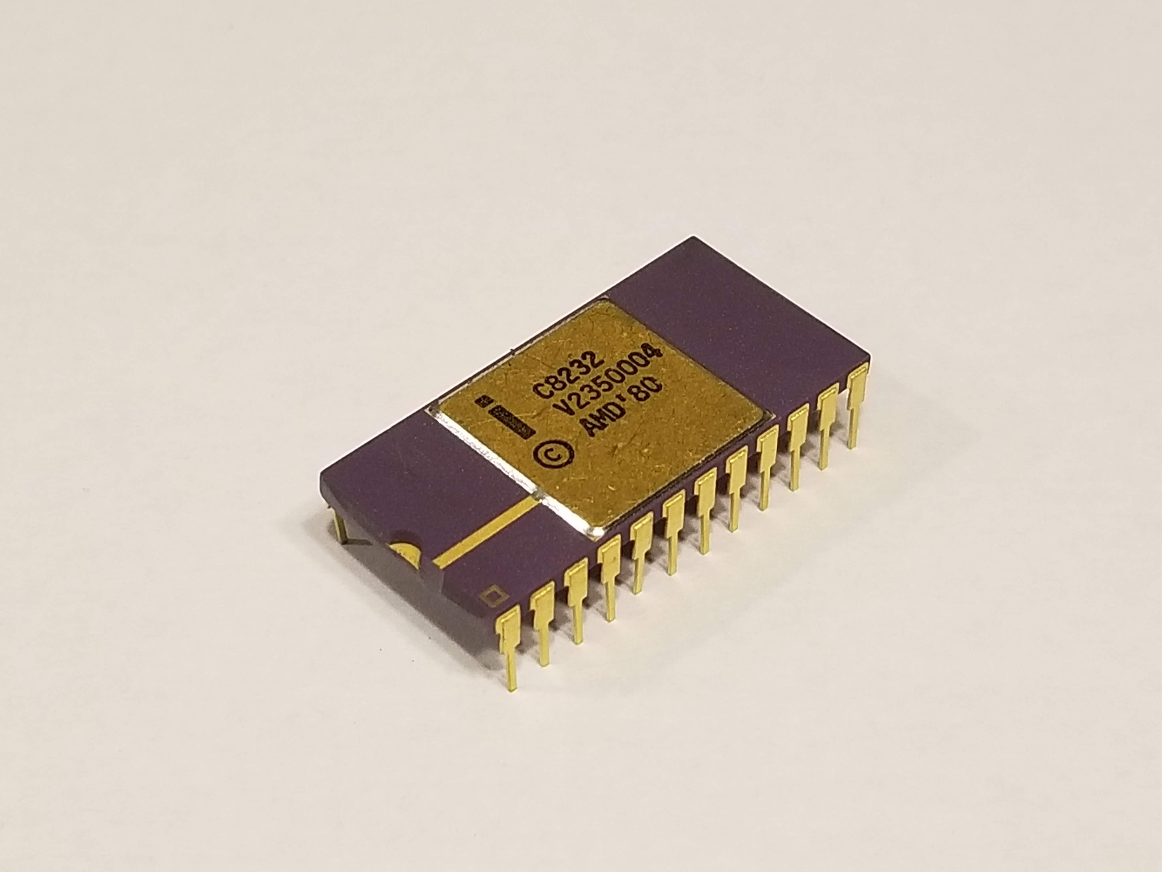 Picture of Intel C8232 Floating Point Processor