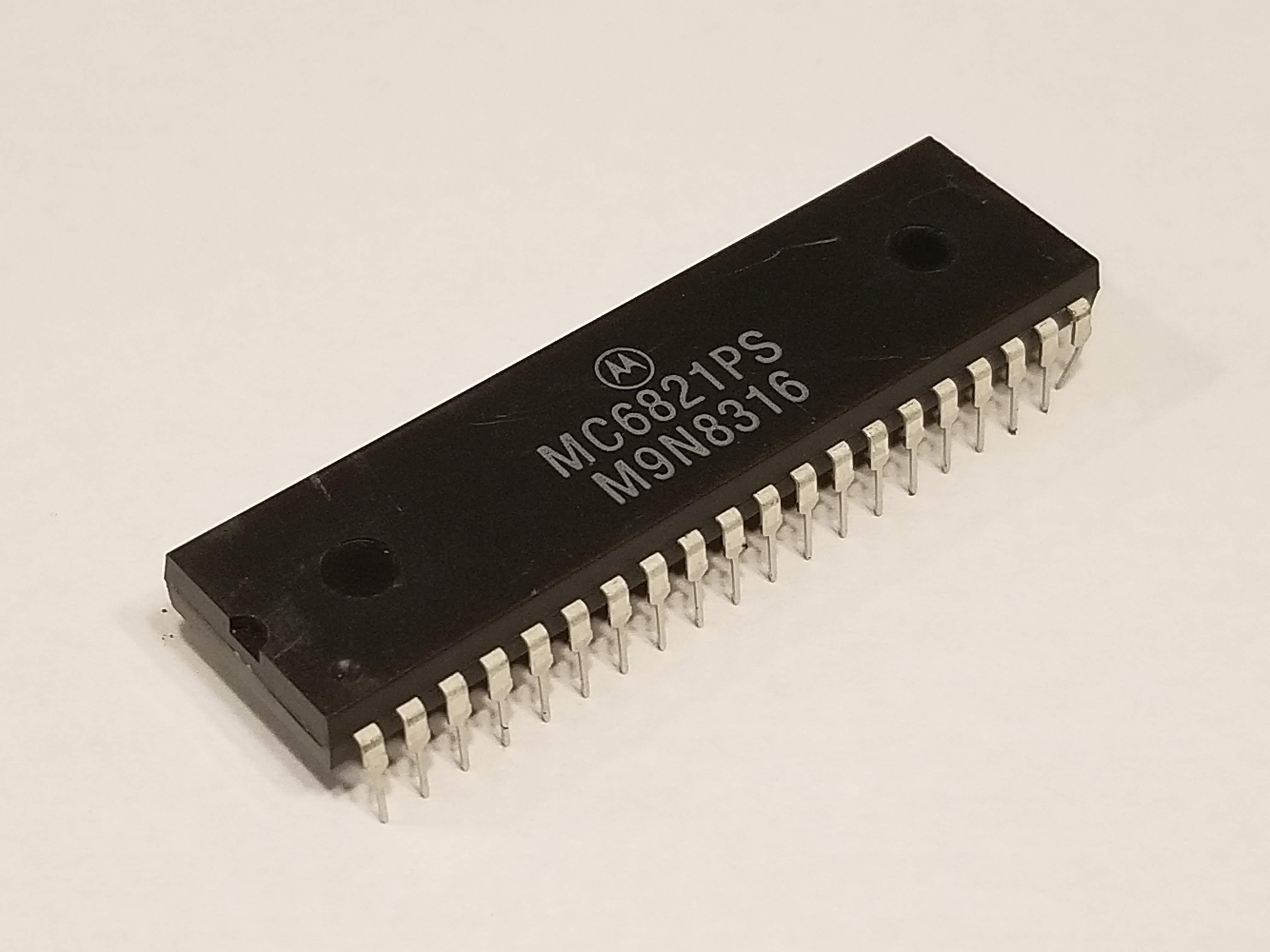 Picture of MC6821 Peripheral Interface Adapter