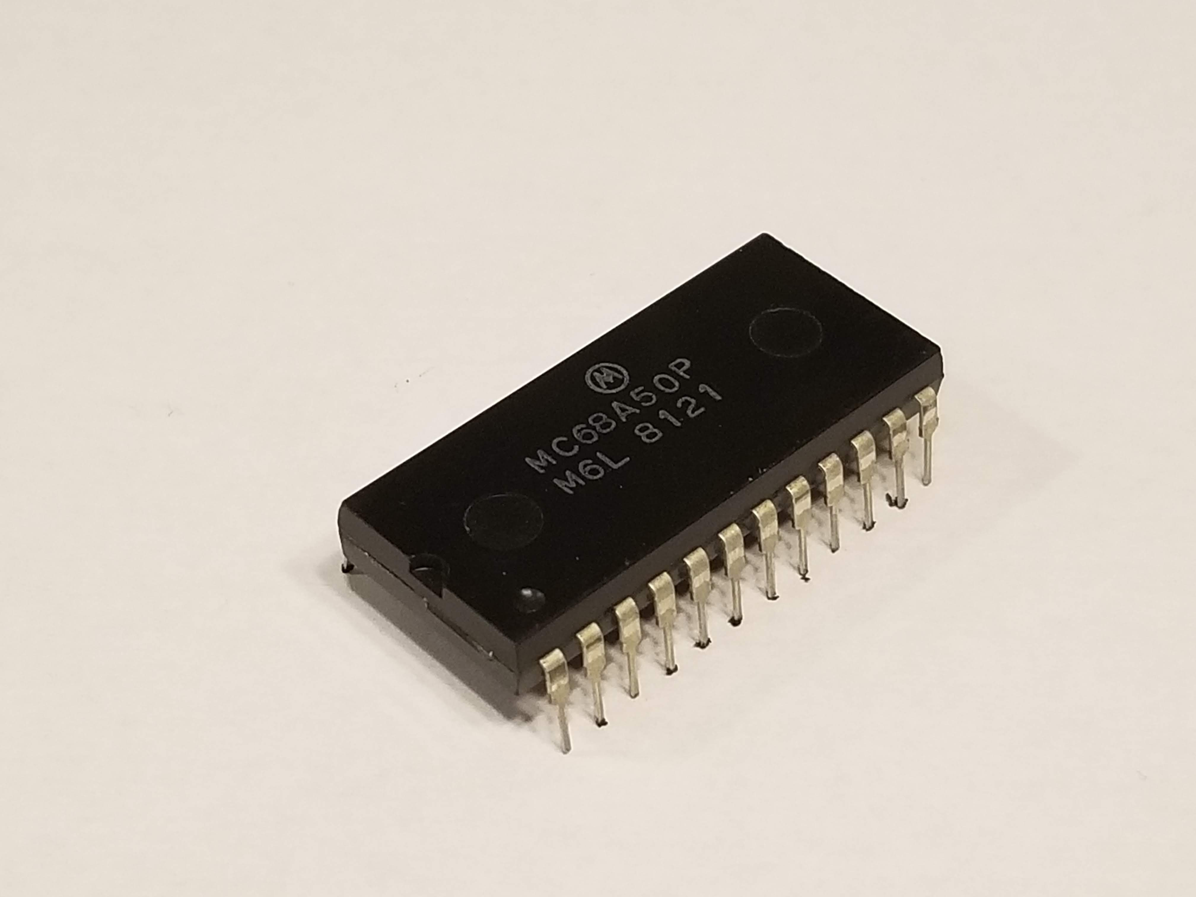 Picture of MC6850 Asynchronous Communications Interface