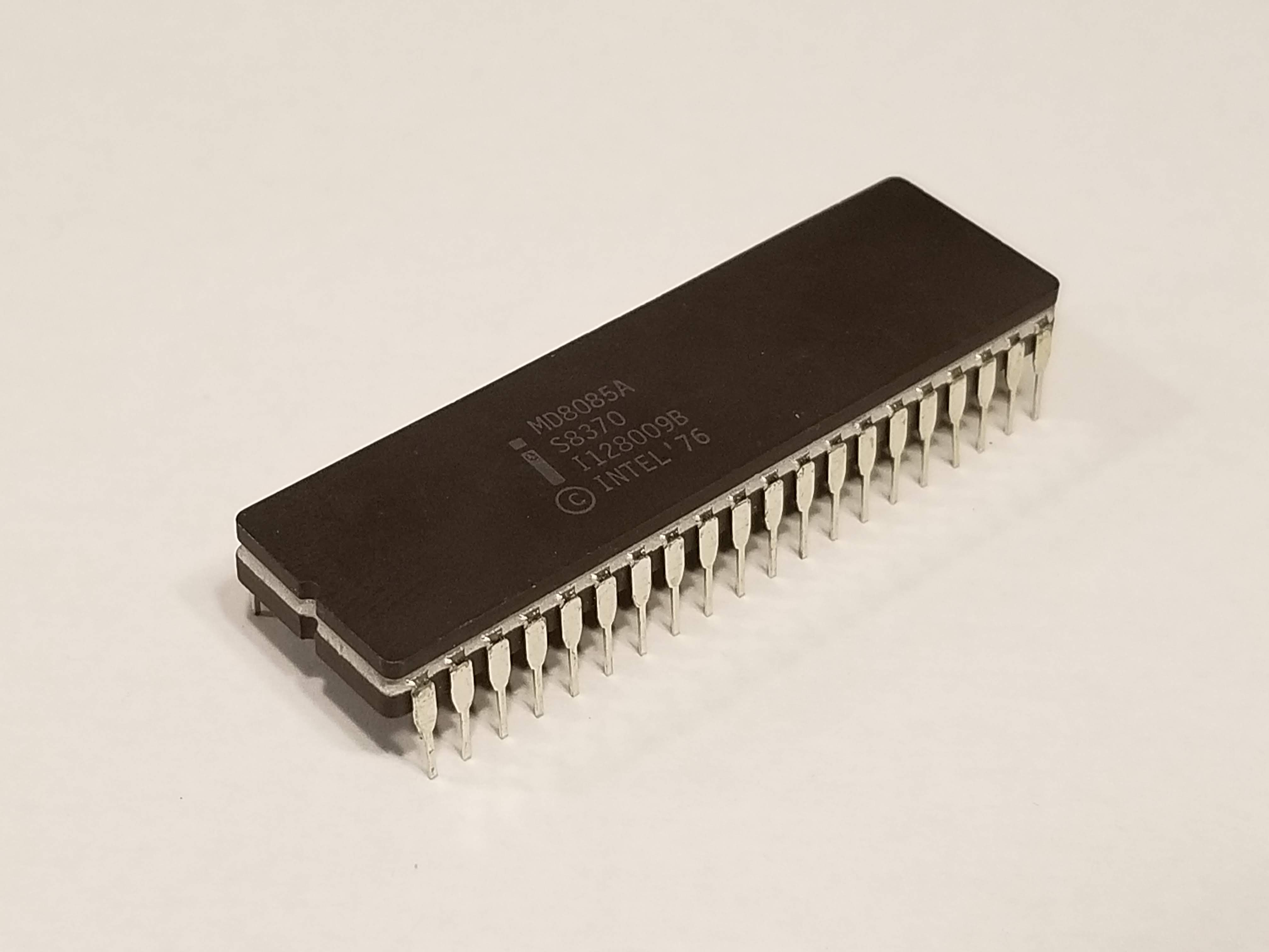 Picture of MD8085 8-bit Microprocessor