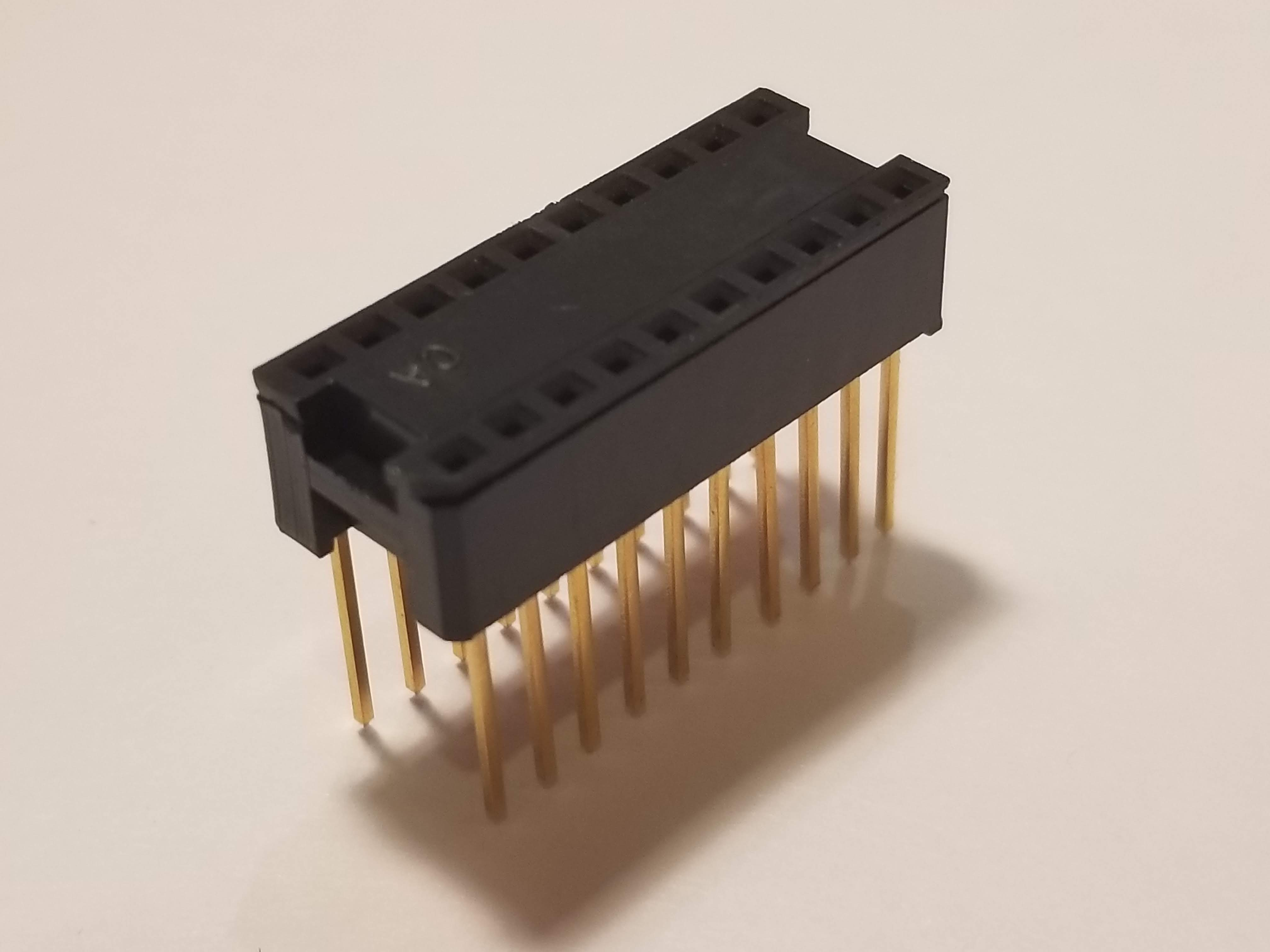 Picture of 16P DIP-600 Socket